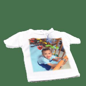 מיני חולצה לרכב עם תמונה